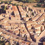Veduta aerea del Castello di Mondolfo