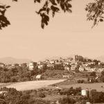Panoramica di Mondolfo dalla località Santa Vittoria