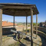 Artillery post along the town walls