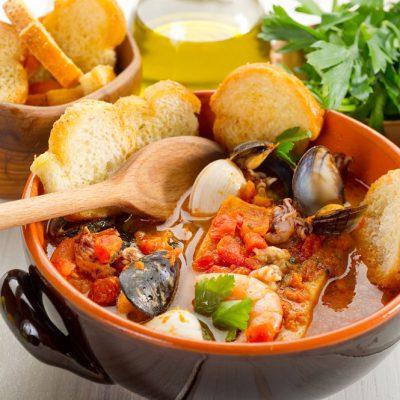 Traditional Adriatic seafood dish