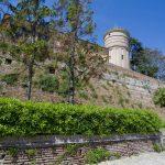 Prima cerchia di mura a Largo Neviera