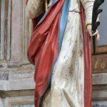 Statue of St Justine, 17th century