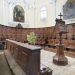 Church of St Augustine, wooden choir